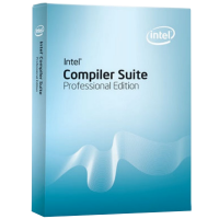 Intel C++ Compiler 11.0 Professional Edition for Windows. Commercial License