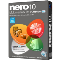 Nero Multimedia Suite 10 Platinum HD. Коробка