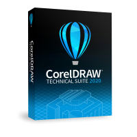 CorelDRAW Technical Suite 2020 Enterprise License (includes 1 Year CorelSure Maintenance)(5-50)
