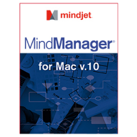 Mindjet MindManager for MAC Version 10 (Single User)